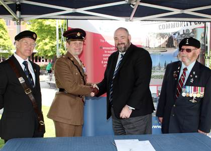 Armed Forces Covenant signing 2016