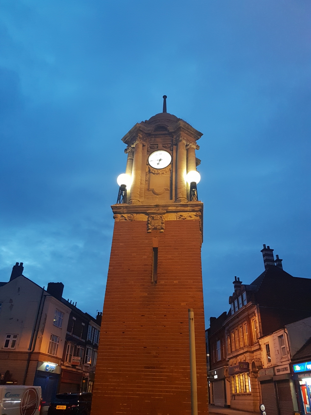A £5,000 make-over to Wednesbury's historic clock tower is now complete.