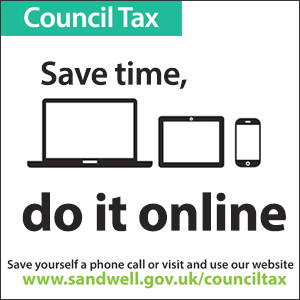 Council Tax - Save time, do it online