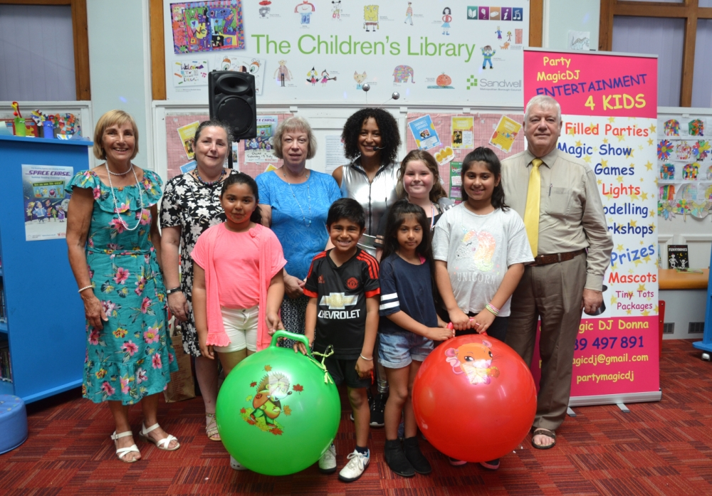 Celebrating children's activities at Sandwell libraries
