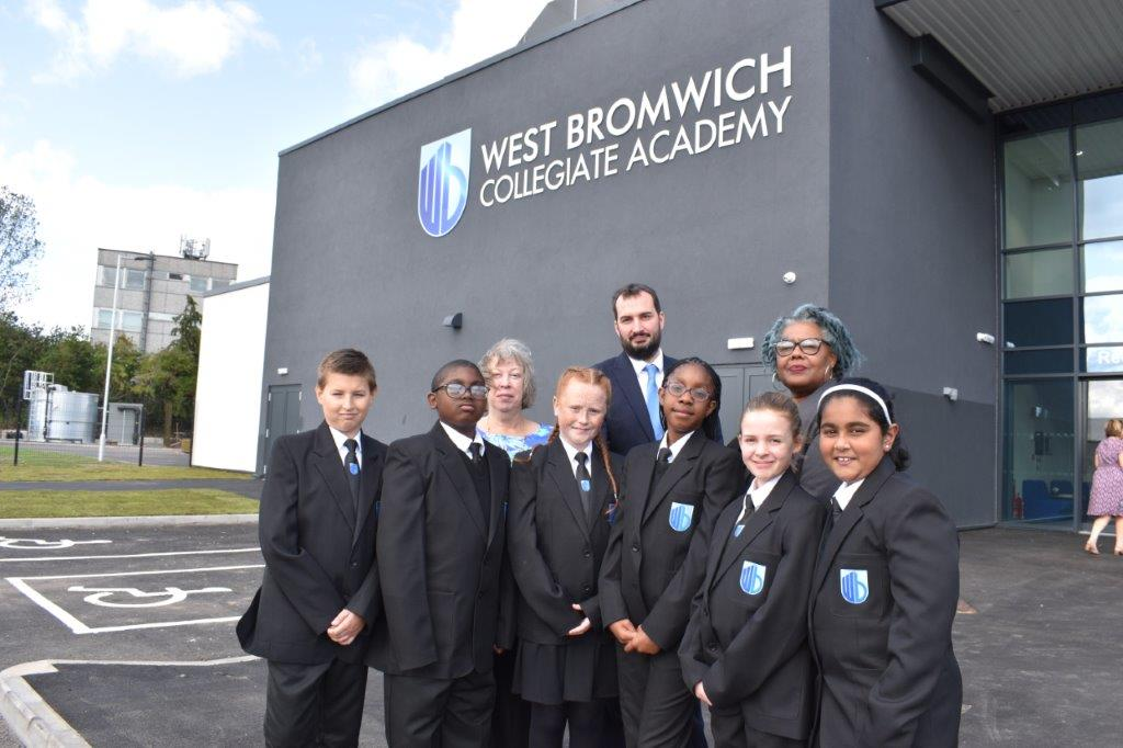 New school in Sandwell welcomes first students