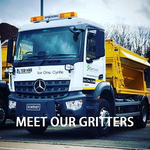 Meet our gritters - named by you