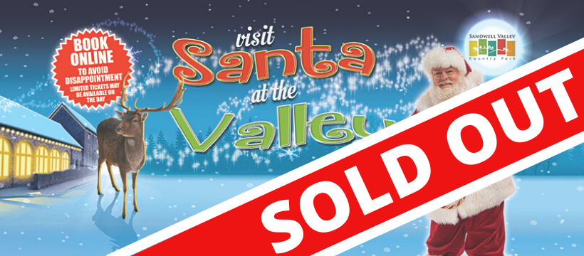 Santa at the Valley sold out