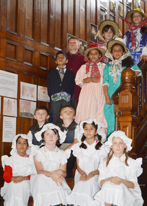 Colley Lane Primary School pupils at Haden Hill House
