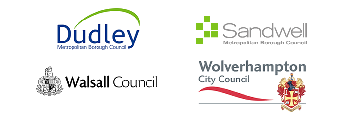 Black Country council logos