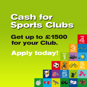 Cash for sports clubs