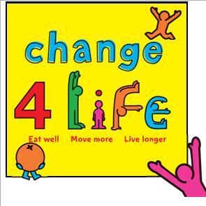 chaneg for life button