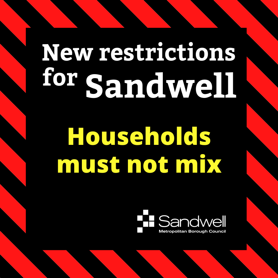 Households must not mix - stop the spread