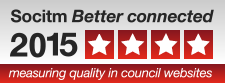 Socitm Better connected 2015 four stars